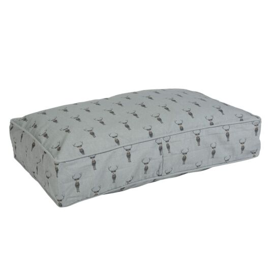 Highland Stag Mattress Dog Bed - Small