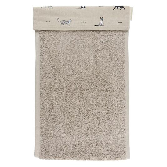 Purrfect Roller Hand Towel