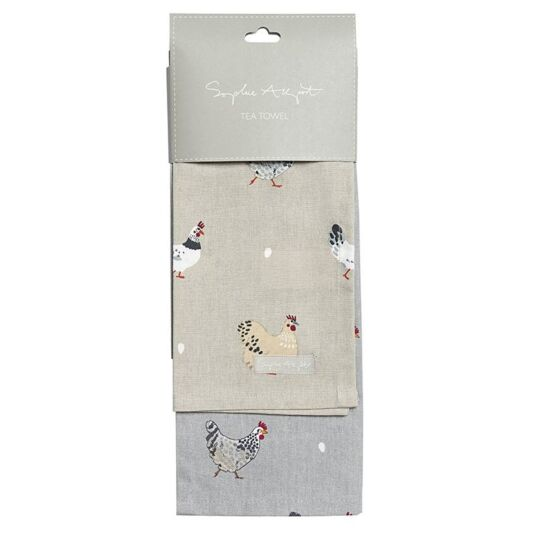 Lay A Little Egg Set of 2 Tea Towels