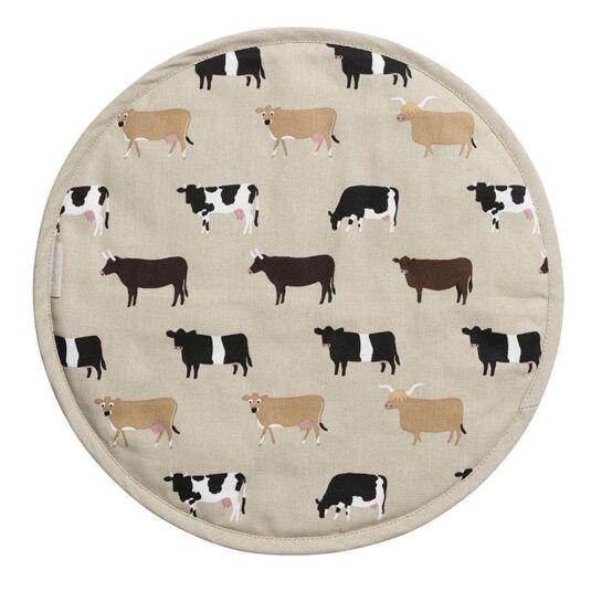 Cows Circular Hob Cover