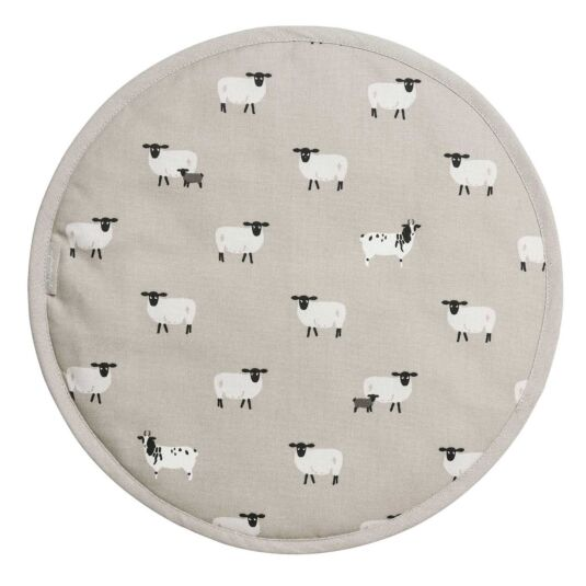 Sheep Circular Hob Cover