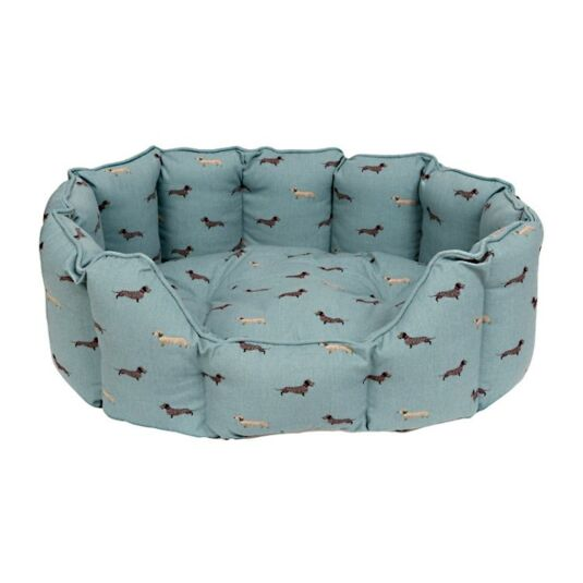 Dachshund Cosy Dog Bed - Medium