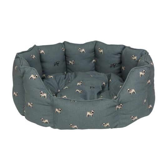 Pug Cosy Dog Bed - Small