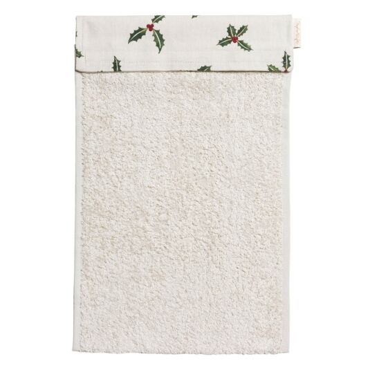 Christmas Holly & Berry Roller Hand Towel