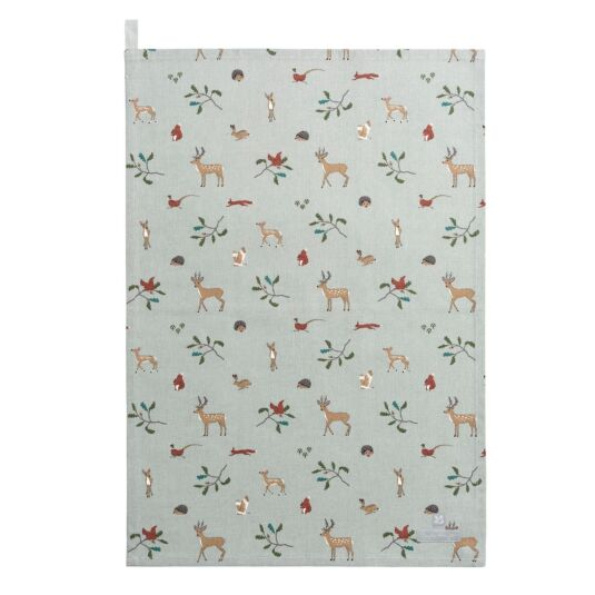 National Trust Woodland Tea Towel