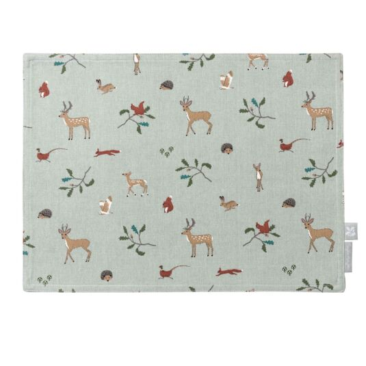National Trust Woodland Fabric Placemat