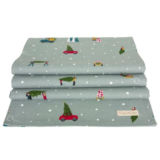 Home for Christmas Table Runner