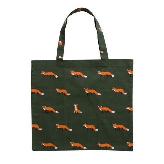 Foxes Folding Shopping Bag