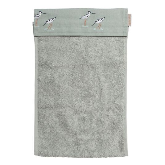 Coastal Birds roller Hand Towel