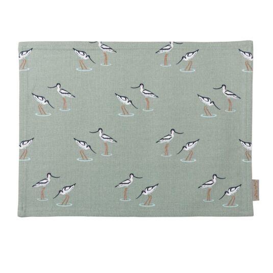 Coastal Birds Fabric Placemat