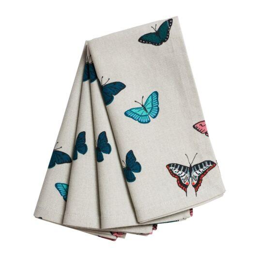 Butterflies Napkins Set of Four