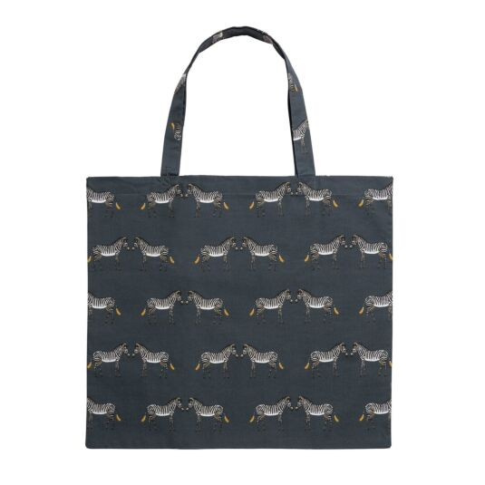 ZSL Zebra Folding Shopping Bag