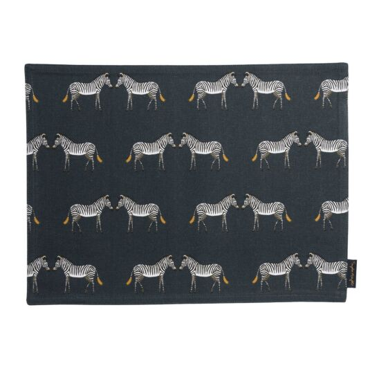ZSL Zebra Fabric Placemat
