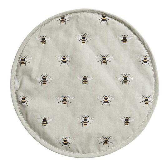 Bees Circular Hob Cover
