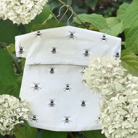 Bees Peg Bag
