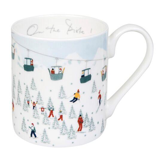 Skiing 'On the Piste!' Standard Mug