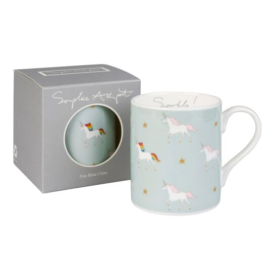 Unicorns Coloured Standard Mug