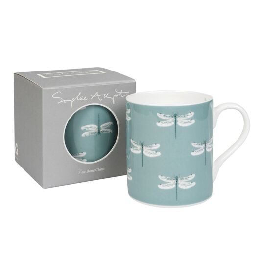 Dragonfly Coloured Mug