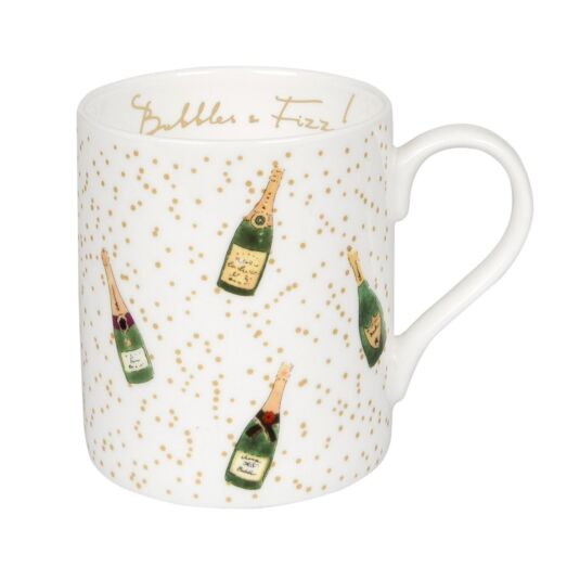 Bubbles & Fizz Boxed Mug