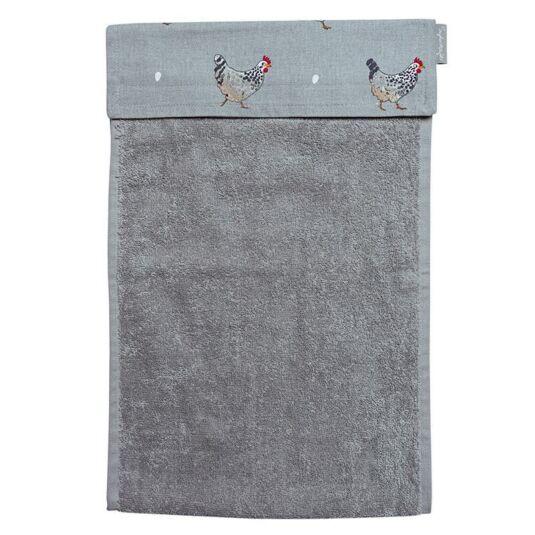 Chicken Roller Hand Towel