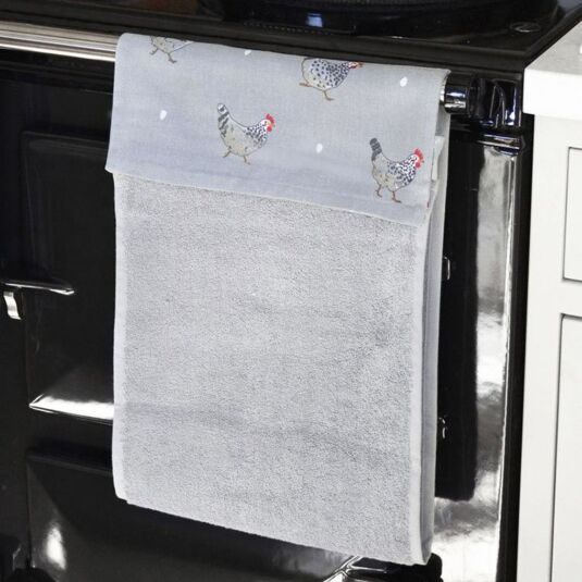 Chicken Roller Hand Towel