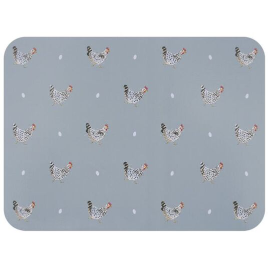 Chicken Set of 4 Placemats