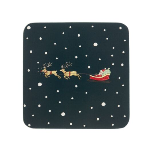 Home for Christmas Set of 4 Coasters