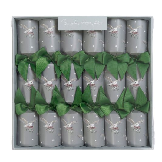 Night Owl Set of 6 Christmas Crackers