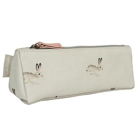 Hare Oilcloth Accessory Case