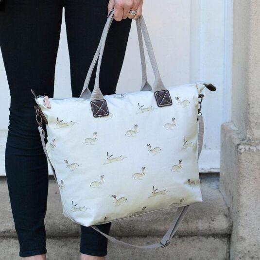 Hare Oilcloth Oundle Bag