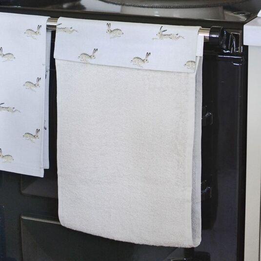 Hare Roller Hand Towel