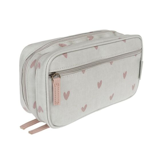Hearts Makeup Bag