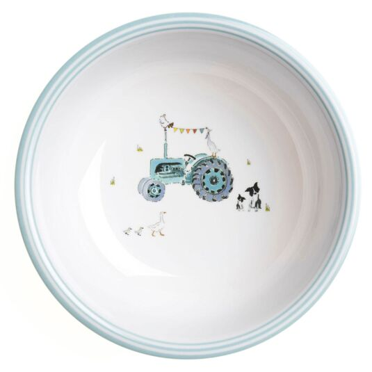 On the Farm Children's Melamine Bowl