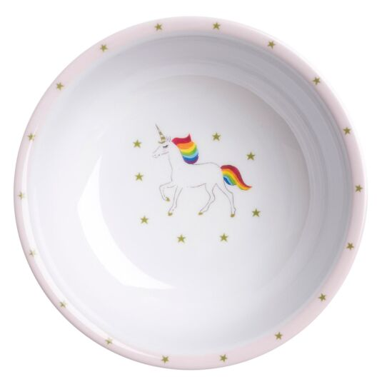 Unicorns Children's Melamine Bowl