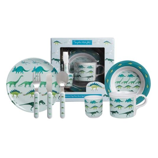 Dinosaurs Children's Melamine Set