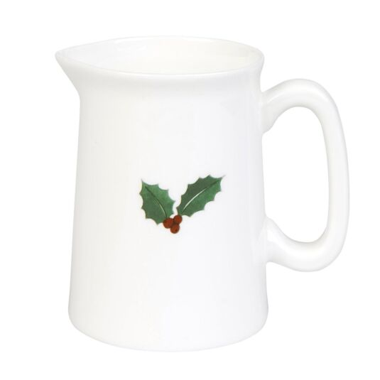 Christmas Holly and Berry Mini Jug