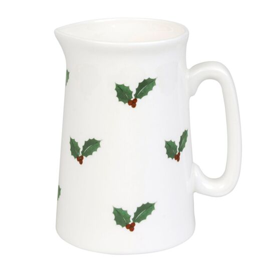 Christmas Holly and Berry Small Jug