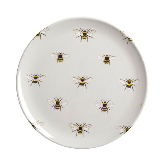 Bees Melamine Side Plate