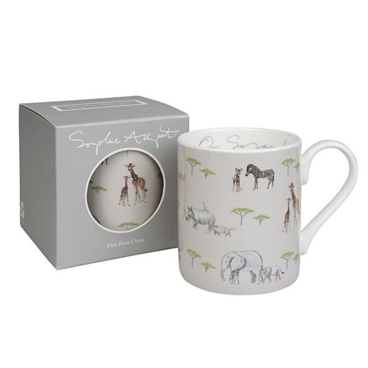 Safari Coloured Boxed Mug