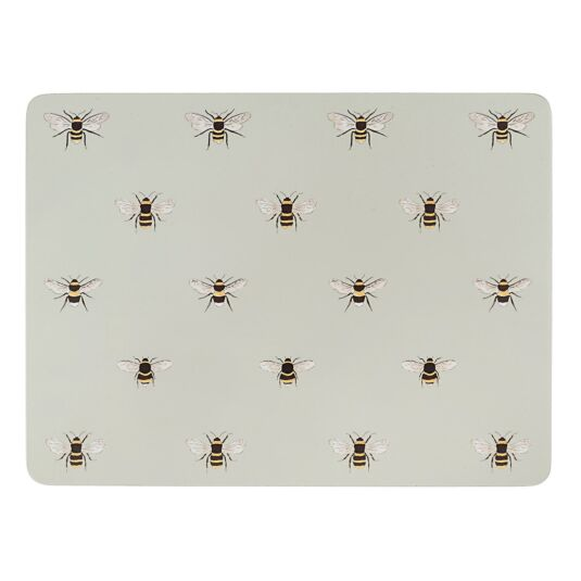 Four Boxed Bees Placemats