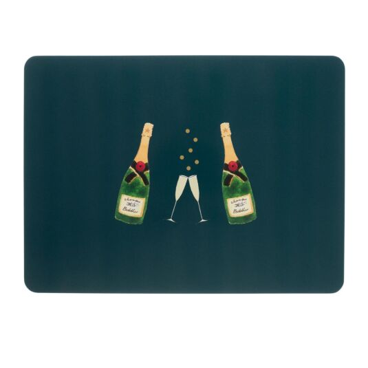 Bubbles & Fizz Set of 4 Placemats