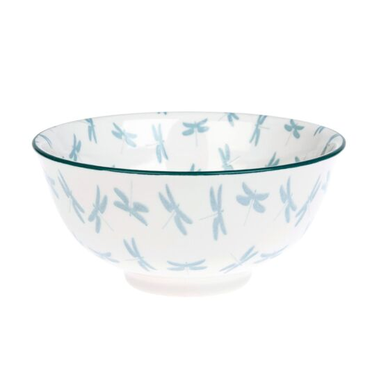 Dragonfly Porcelain Nibbles Bowl
