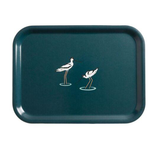 Coastal Birds Printed Tray