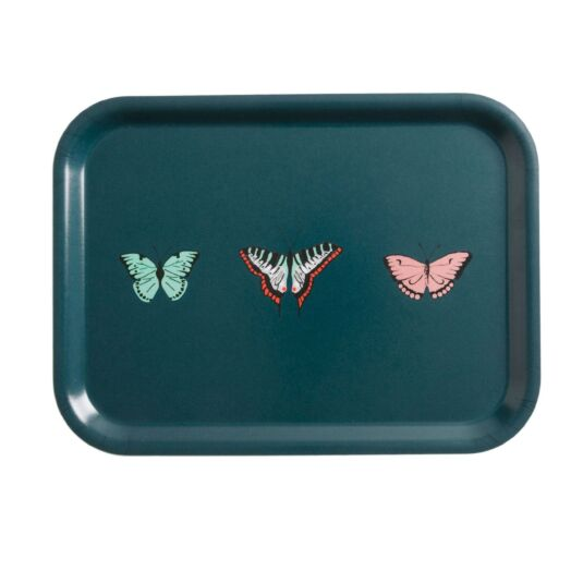 Butterflies Small Printed Tray