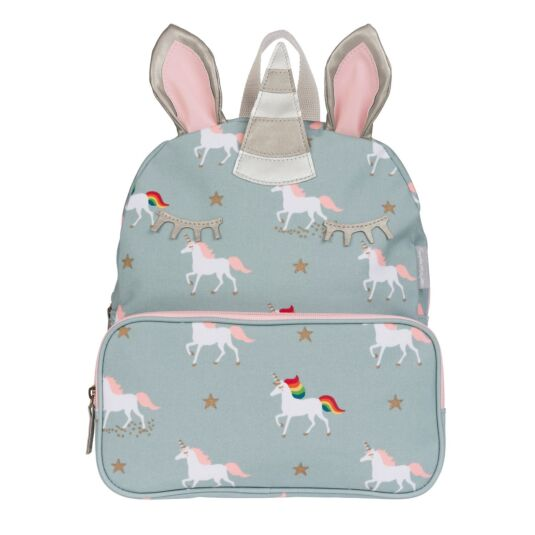 Unicorns Oilcloth Back Pack