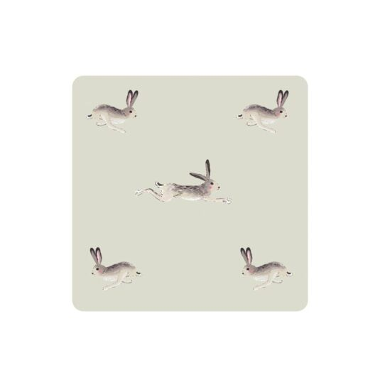 Hare Set of 4 Boxed Coasters