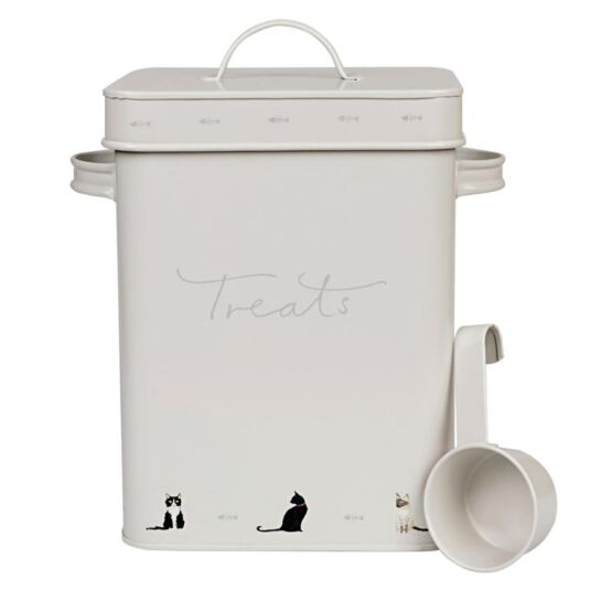 Purr-fect! Cat Food Tin with Scoop