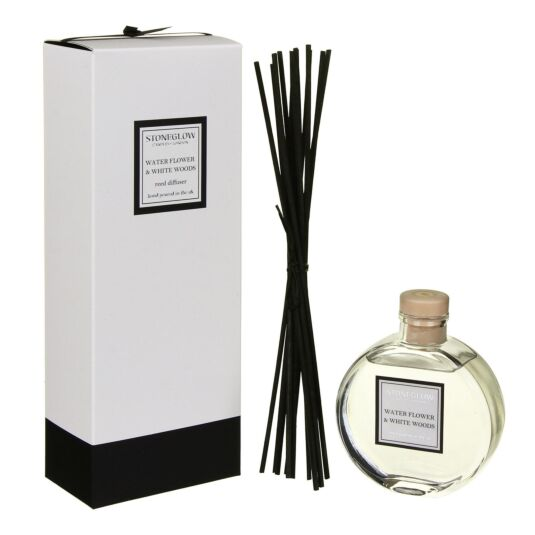 Modern Classics Water Flower & White Woods Reed Diffuser