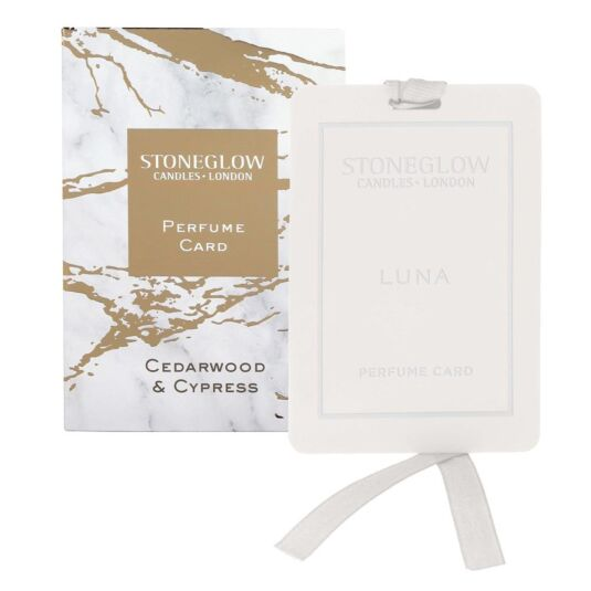 Luna Cedarwood & Cypress Perfume Card