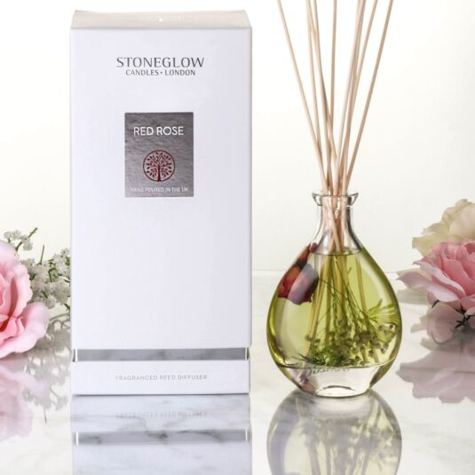 Red Rose Nature's Gift Reed Diffuser